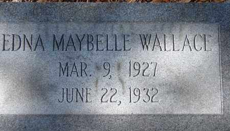 WALLACE, EDNA MAYBELLE - Sarasota County, Florida | EDNA MAYBELLE WALLACE - Florida Gravestone Photos