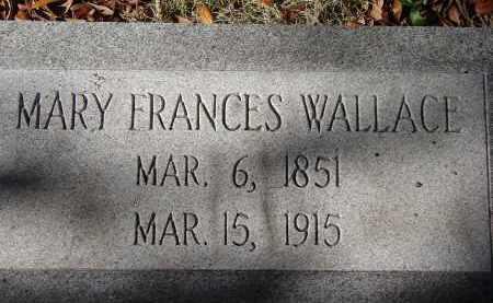 WALLACE, MARY FRANCES - Sarasota County, Florida | MARY FRANCES WALLACE - Florida Gravestone Photos