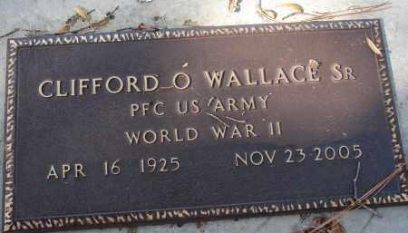 WALLACE, SR (VETERAN WWII), CLIFFORD O. - Sarasota County, Florida   CLIFFORD O. WALLACE, SR (VETERAN WWII) - Florida Gravestone Photos