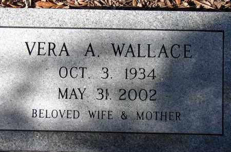 WALLACE, VERA A. - Sarasota County, Florida | VERA A. WALLACE - Florida Gravestone Photos