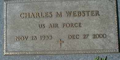 WEBSTER (VETERAN), CHARLES M. - Sarasota County, Florida | CHARLES M. WEBSTER (VETERAN) - Florida Gravestone Photos