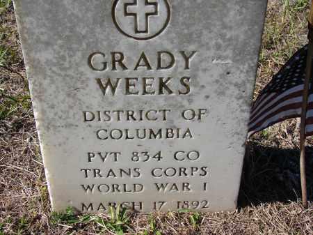 WEEKS (VETERAN WWI), GRADY - Sarasota County, Florida | GRADY WEEKS (VETERAN WWI) - Florida Gravestone Photos