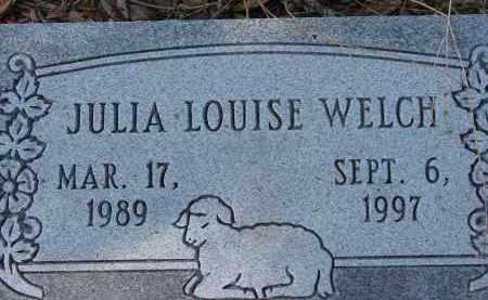 WELCH, JULIA LOUISE - Sarasota County, Florida | JULIA LOUISE WELCH - Florida Gravestone Photos
