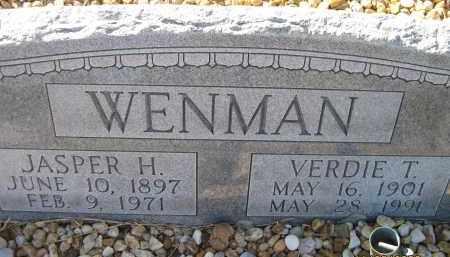 WENMAN, VERDIE T - Sarasota County, Florida | VERDIE T WENMAN - Florida Gravestone Photos