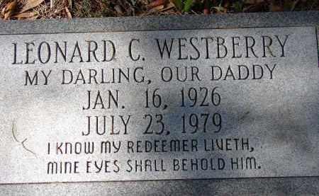 WESTBERRY, LEONARD C. - Sarasota County, Florida | LEONARD C. WESTBERRY - Florida Gravestone Photos