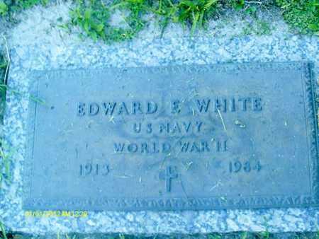 WHITE, EDWARD  E. - Sarasota County, Florida | EDWARD  E. WHITE - Florida Gravestone Photos