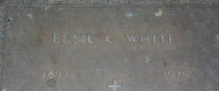 WHITE, ELSIE C. - Sarasota County, Florida | ELSIE C. WHITE - Florida Gravestone Photos