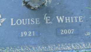 WHITE, LOUISE E. - Sarasota County, Florida   LOUISE E. WHITE - Florida Gravestone Photos