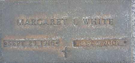 WHITE, MARGARET L. - Sarasota County, Florida | MARGARET L. WHITE - Florida Gravestone Photos