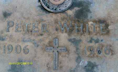 WHITE, PETER - Sarasota County, Florida   PETER WHITE - Florida Gravestone Photos