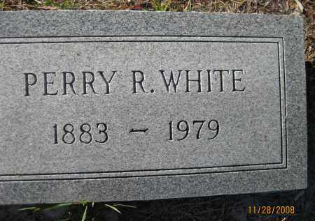 WHITE, PERRY R - Sarasota County, Florida | PERRY R WHITE - Florida Gravestone Photos