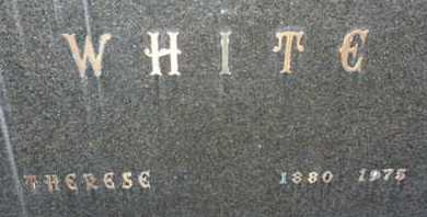 WHITE, THERESE - Sarasota County, Florida | THERESE WHITE - Florida Gravestone Photos