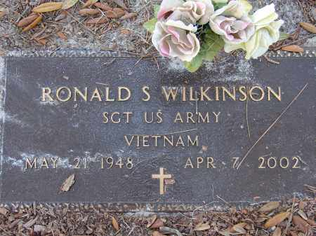 WILKINSON (VETERAN VIET), RONALD S. - Sarasota County, Florida | RONALD S. WILKINSON (VETERAN VIET) - Florida Gravestone Photos