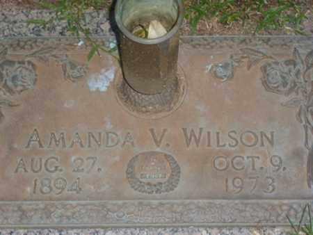 WILSON, AMANDA V. - Sarasota County, Florida   AMANDA V. WILSON - Florida Gravestone Photos
