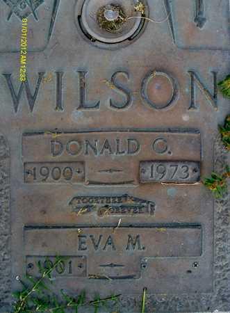 WILSON, DONALD O. - Sarasota County, Florida   DONALD O. WILSON - Florida Gravestone Photos