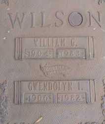 WILSON, GWENDOLYN I. - Sarasota County, Florida | GWENDOLYN I. WILSON - Florida Gravestone Photos