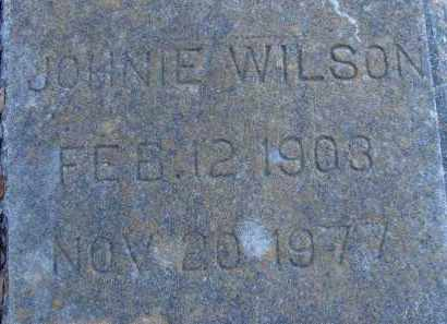 WILSON, JOHNIE - Sarasota County, Florida | JOHNIE WILSON - Florida Gravestone Photos