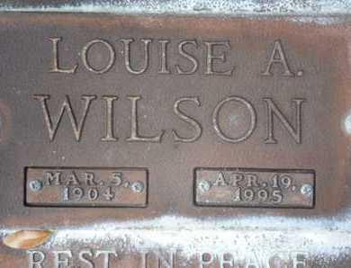 WILSON, LOUISE A. - Sarasota County, Florida | LOUISE A. WILSON - Florida Gravestone Photos