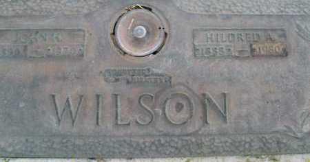 WILSON, MILDRED A - Sarasota County, Florida | MILDRED A WILSON - Florida Gravestone Photos