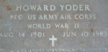 YODER, HOWARD - Sarasota County, Florida | HOWARD YODER - Florida Gravestone Photos