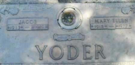 YODER, JACOB - Sarasota County, Florida | JACOB YODER - Florida Gravestone Photos