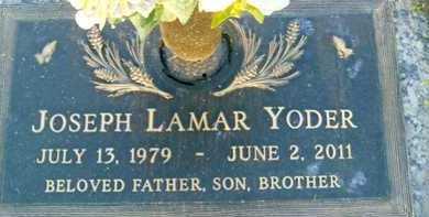 YODER, JOSEPH LAMAR - Sarasota County, Florida | JOSEPH LAMAR YODER - Florida Gravestone Photos
