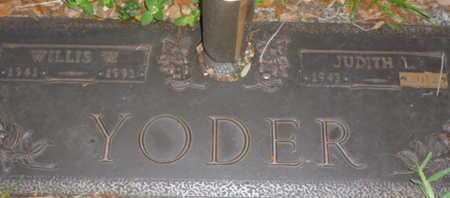 YODER, JUDITH L. - Sarasota County, Florida | JUDITH L. YODER - Florida Gravestone Photos
