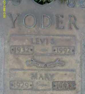 YODER, LEVIS - Sarasota County, Florida   LEVIS YODER - Florida Gravestone Photos