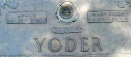 YODER, MARY ELLEN - Sarasota County, Florida   MARY ELLEN YODER - Florida Gravestone Photos
