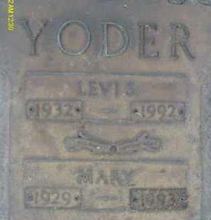 YODER, MARY - Sarasota County, Florida   MARY YODER - Florida Gravestone Photos