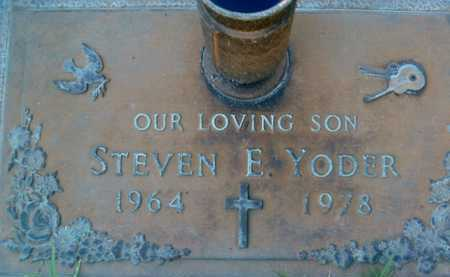 YODER, STEVEN  F. - Sarasota County, Florida | STEVEN  F. YODER - Florida Gravestone Photos
