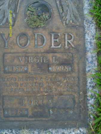 YODER, VIRGIL  L. - Sarasota County, Florida | VIRGIL  L. YODER - Florida Gravestone Photos