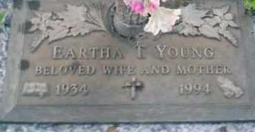 YOUNG, EARTHA T. - Sarasota County, Florida | EARTHA T. YOUNG - Florida Gravestone Photos