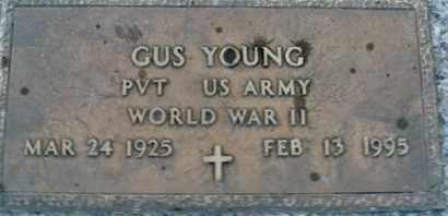 YOUNG, GUS - Sarasota County, Florida | GUS YOUNG - Florida Gravestone Photos