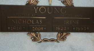 YOUNG, IRENE - Sarasota County, Florida | IRENE YOUNG - Florida Gravestone Photos