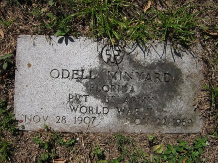 MINYARD (VETERAN WWII), ODELL (NEW) - Seminole County, Florida | ODELL (NEW) MINYARD (VETERAN WWII) - Florida Gravestone Photos
