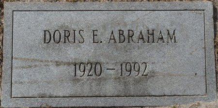 ABRAHAM, DORIS E - Wakulla County, Florida   DORIS E ABRAHAM - Florida Gravestone Photos