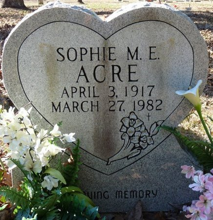 ACRE, SOPHIE M.E. - Wakulla County, Florida | SOPHIE M.E. ACRE - Florida Gravestone Photos
