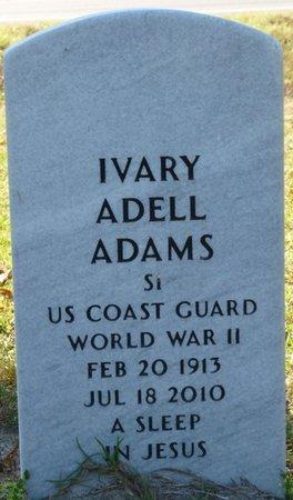 ADAMS (VETERAN WWII), IVARY ADELL (NEW) - Wakulla County, Florida | IVARY ADELL (NEW) ADAMS (VETERAN WWII) - Florida Gravestone Photos