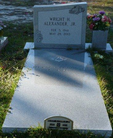 ALEXANDER JR., WRIGHT H - Wakulla County, Florida   WRIGHT H ALEXANDER JR. - Florida Gravestone Photos