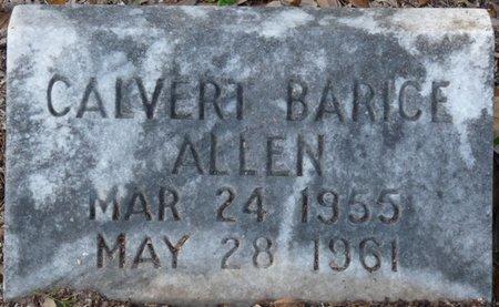ALLEN, CALVERT BARICE - Wakulla County, Florida   CALVERT BARICE ALLEN - Florida Gravestone Photos