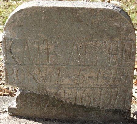 ALLEN, KATE - Wakulla County, Florida | KATE ALLEN - Florida Gravestone Photos