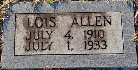 ALLEN, LOIS - Wakulla County, Florida | LOIS ALLEN - Florida Gravestone Photos