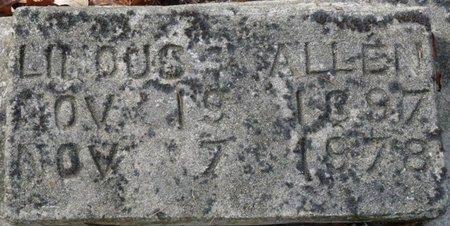 ALLEN, LINOUS - Wakulla County, Florida   LINOUS ALLEN - Florida Gravestone Photos