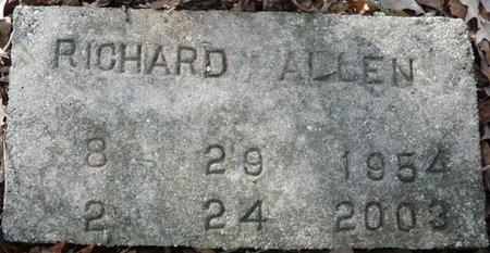 "ALLEN, RICHARD ""TRICKY SAM"" - Wakulla County, Florida   RICHARD ""TRICKY SAM"" ALLEN - Florida Gravestone Photos"