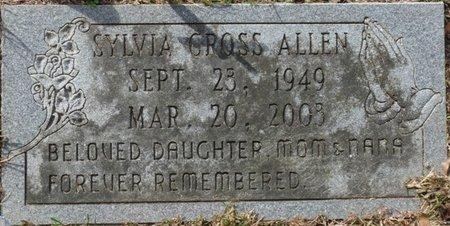 CROSS ALLEN, SYLVIA - Wakulla County, Florida | SYLVIA CROSS ALLEN - Florida Gravestone Photos