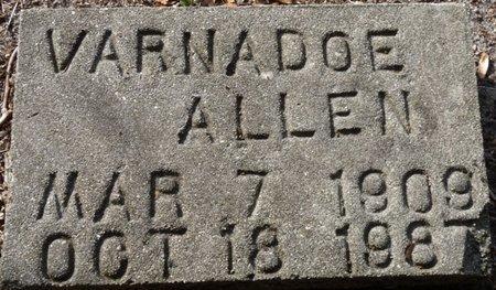 ALLEN, VARNADOE - Wakulla County, Florida   VARNADOE ALLEN - Florida Gravestone Photos