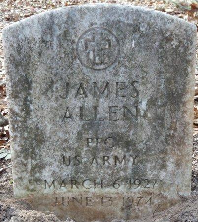 ALLEN (VETERAN), JAMES (NEW) - Wakulla County, Florida | JAMES (NEW) ALLEN (VETERAN) - Florida Gravestone Photos
