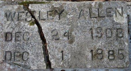 ALLEN, WESLEY - Wakulla County, Florida | WESLEY ALLEN - Florida Gravestone Photos