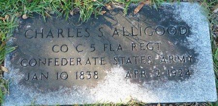 "ALLIGOOD (VETERAN CSA), CHARLES S ""PAT"" (NEW) - Wakulla County, Florida   CHARLES S ""PAT"" (NEW) ALLIGOOD (VETERAN CSA) - Florida Gravestone Photos"